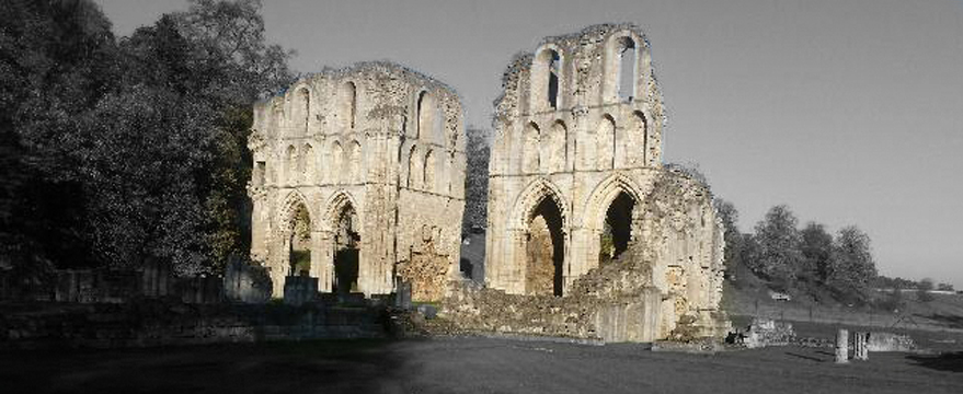 Roche Abbey Autumn Trail