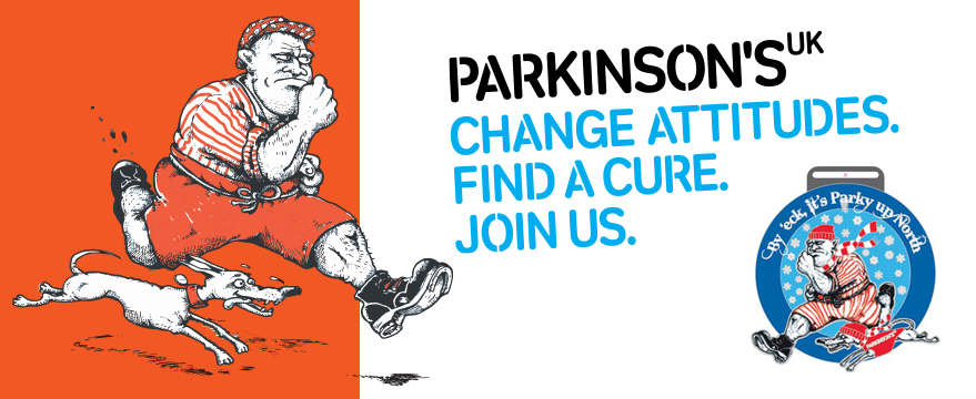 'It's Parky Up North-'The 'Virtual' event' a fabulous race for Parkinson's UK